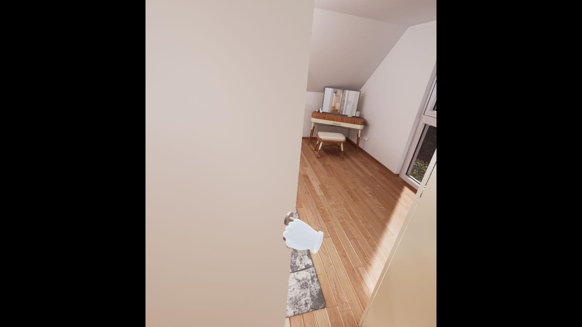 VR Tour - Tür öffnen